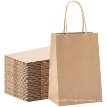 High quality biodegradable white kraft paper bags