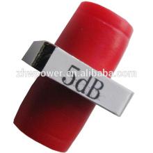 1dB-30dB Adaptador / Fixo / Flange Tipo D Atenuador de Fibra Óptica, FC PC Fibra Óptica Conector Atenuador de Fibra Óptica