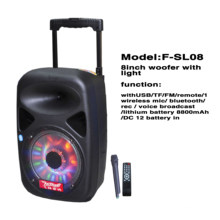 Professional Multimedia Speaker with Mic Input F85D