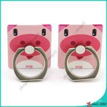 Porte-anneau de doigt de porc rose pour les accessoires de téléphone (SPH16041105)