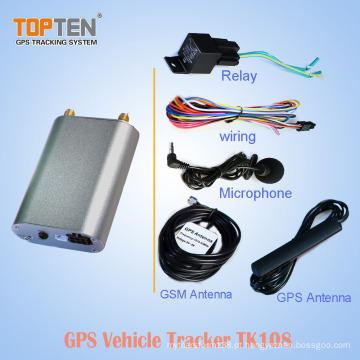 Rastreador do GPS do carro do tempo real mini com software em linha do seguimento e Apps móveis, marcas do CE (WL)