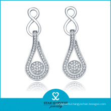 2014 Best Seller 925 Silver Micro Pave Setting Earring (SH-E0024)