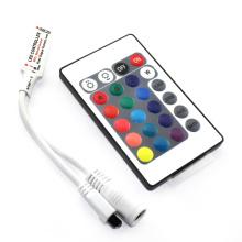 Haute Qualité DC5-24V 6A Sans Fil IR À Distance Mini 24 Touches LED RGB Contrôleur pour RGB LED Lumières de bande