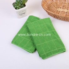 Soft Microfiber Towels Checks 2pcs Set