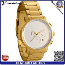 Yxl-105 Luxury Stainless Steel Watch Chronograph Automatic Date Men′s Watches Businessman Swiss Quartz Fashion Men Watch Clock