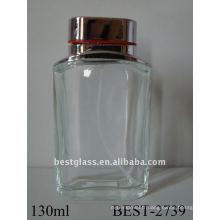 130ml grande bouteille de parfum vide