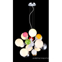 Hot Multicolor Modern Glass Ceiling Lamp (MD4035-CF)