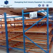 Warehouse Storage Multi Level Shelf Gravity Racking