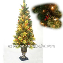 45inch outdoor wire lighted Christmas tree