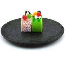 Plastic Plate Disposable Tray Medium Round Tray