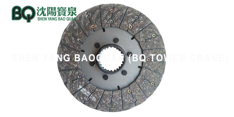 hoisting brake disc for tower crane