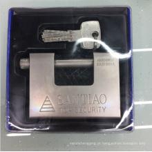 Cadeado retangular do OEM da fábrica com chave de computador