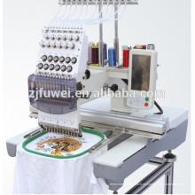 FUWEI máquina de bordado de una sola cabeza para la venta con precio de 1 máquina de bordado cabeza