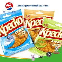 Emballage alimentaire Sacs en plastique avec fenêtre / sacs à provisions alimentaires