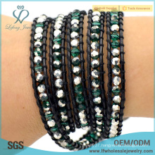 Top sale fashionable boho bohemian accesories wrap around bracelets