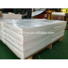 Geprägtes weißes PVC-Blatt für Spielkarten