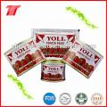 Pasta de tomate de alta calidad de 70g y 210g de la marca Yoli