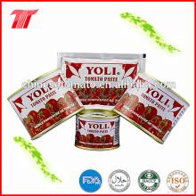 Yoli Marca 210g Orgânica Em Conserva de Tomate Colar com Preço Baixo