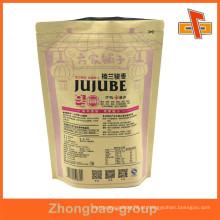 Material laminatged à prova de umidade sacos de papel de café stand-reselable feitos sob encomenda com impressão