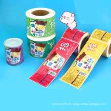 Printing Roll Custom Logo Self Adhesive Matte Labels Stickers for Food Package