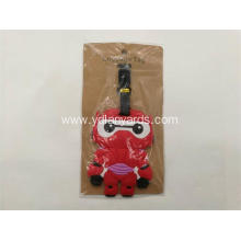 Cartoon Luggage Tag Silicone PVC Luggage Tag