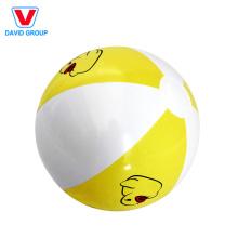 Balles gonflables blanches adaptées aux besoins du client et boule blanche de plage