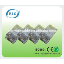 BLG FTP Lan кабель RJ45 прямой кристалл головка