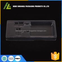 Plateau d'empaquetage électronique boursouflure PVC