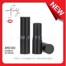 Classic Black Custom Aluminium Lipstick Tube