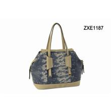 Wholesale Fashion Woman Handbag China, Designer Tote Bag Snake PU Handbags Zxe1187