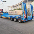 3 Line 6 Axle Low Bed نصف مقطورة