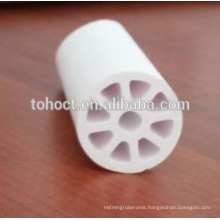 Industrial bespoke porous ceramic cation or ion exchange cylindrical membrane