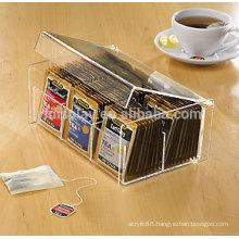 Custom high transparent clear tex bag box holder
