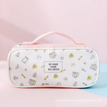 Pencil Bag Cute Pencil Case Pen Zipper Bag Pouch Holder Makeup Brush Bag for School Work Office