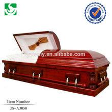 Noir cerise américaine populaire vente cerise cercueil en bois