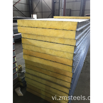 Tấm thép Sandwich Panel Rock Wool