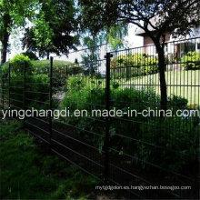 Cerca doble de malla de alambre de PVC anping (20 años de fábrica)