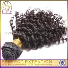 Массовый импорт афро кудрявый фигурные 100% перуанских натуральные волосы утка