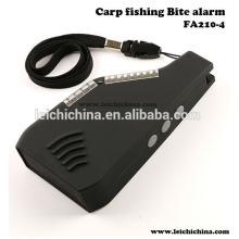 Réception réceptrice d'alarme de morceaux de pêche à la carpe