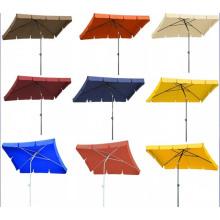 Beach Straight Square Light Outdoor Umbrella