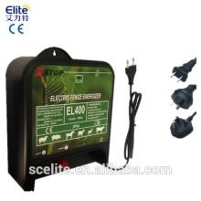 Electronic fence energizer electric fence energizer