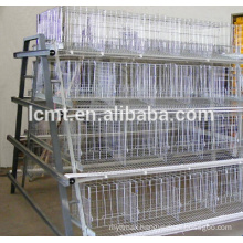 deep galvanized chicken cage material for layer poultry