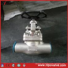 Geschmiedete Stahlgewindekugelventil mit Handrad (J11H)