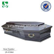 Прямая продажа Европейский стиль Зола древесины взрослых гроб в Китае