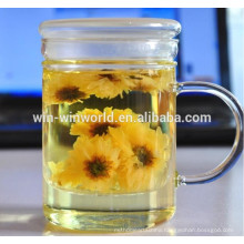 Wholesale Big Thermal Thin Glass Bubble Tea Cup