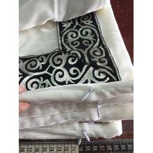 Classic Silk Velvet Pillow Case with Ribbon