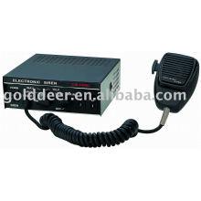 Auto uso policía sirena electrónica para el coche (CJB-100AD)