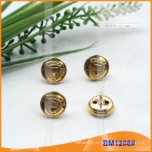 Модные золотые кнопки латунные для военного BM1208