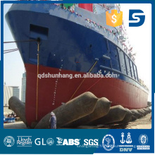 Dia1.2mx12m 6 couches bateau gonflable en caoutchouc tube
