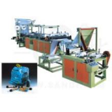 Machine de fabrication de sacs laminés en continu à ruban